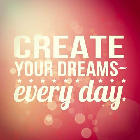 Create your dreams - Skab dine drømme, hver dag - passiontest odense - passiontest fyn