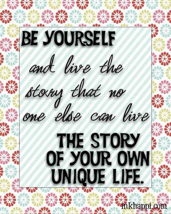 be yourself - beingful you