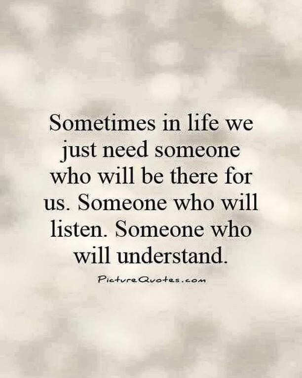 bliv lyttet til og bliv forstået